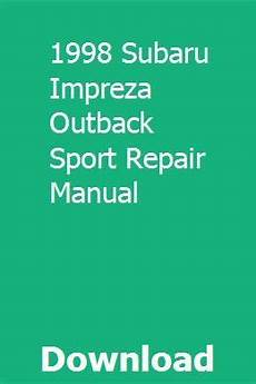 online car repair manuals free 2003 subaru impreza engine control 1998 subaru impreza outback sport repair manual repair manuals impreza subaru impreza