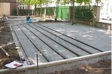 Wpc Holzterrasse Bauanleitung Unterbau Einer Wpc Terrasse