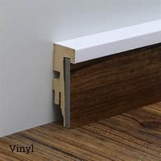 universal sockelleiste nt7 f 252 r teppich vinyl in wei 223