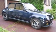 Historie Renault 5 Turbo 1 En 2