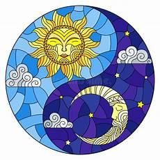 yin yang en el cielo stock de ilustraci 243 n ilustraci 243 n de filosof 237 a 335264