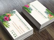 floral business card template photoshop 22 exles of floral business cards word psd ai