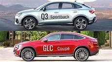 2020 Audi Q3 Sportback Vs Mercedes Glc Coup 233