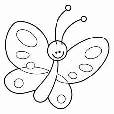 Malvorlage Einfach Malvorlage Schmetterling Einfach 1ausmalbilder