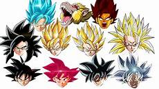 20 super forms transformations of son goku ranked weakest to strongest youtube