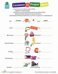 identifying common or proper nouns lesson plan education com