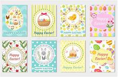 easter card design templates happy easter greeting card collection flyer poster