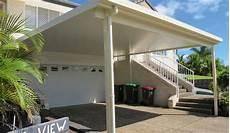 carport aluminium flachdach steel carports diy carport kits the shed company