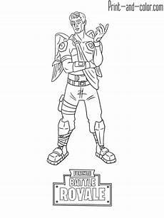 fortnite battle royale coloring page frozen ranger