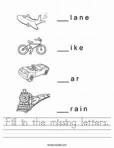 missing letters worksheets for kindergarten 23511 fill in the missing letters worksheet twisty noodle