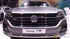 2020 volkswagen touareg r line exterior and interior