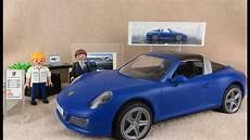 playmobil porsche 911 targa 4s 5991 blau