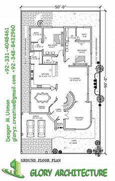 one kanal house plan 1 kanal house plan 50 215 90 house plan glory architecture