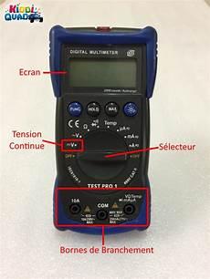 Tester Batterie De Voiture En Charge Kiddiquad