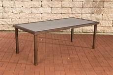 Gartentisch Rattan Braun - rattan tisch braun g 252 nstig kaufen bei yatego