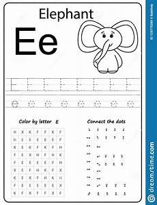 letter e worksheets 24106 writing letter e worksheet writing a z alphabet exercises for stock vector