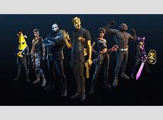Fortnite, Season 2, Chapter 2, Battle Pass, Shadow, Skins