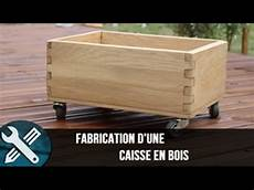 Bricolage Vlogs Fabrication D Une Caisse En Bois Sur