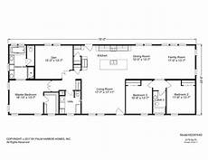 3 bedroom rectangular house plans davis creek modular home floor plans rectangle house