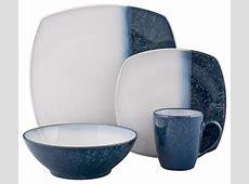 Sango Blue Metallics 16 piece Dinnerware Set