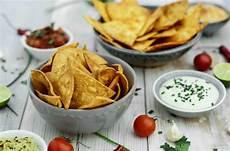 tortilla chips selber machen vegane dips deutschland