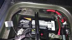 diy r52 53 mini cooper battery replacement