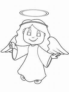Malvorlagen Weihnachten Engel Kostenlos Ausmalbild Weihnachtsengel Engel Mit Heiligenschein