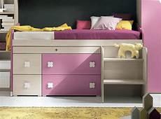 da letto con scrivania letto singolo estraibile con cassettoni scaletta e