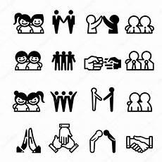 Symbole Für Freundschaft - freund freundschaft beziehung teamkollege teamwork icon