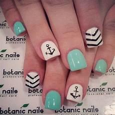 60 Anchor Nail Designs Nails Nautical Nails