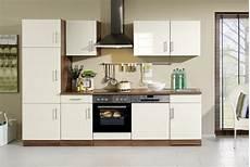 Küchenblock Mit Elektrogeräten - k 252 che mit elektroger 228 ten k 252 chenblock mit e ger 228 ten 280 cm