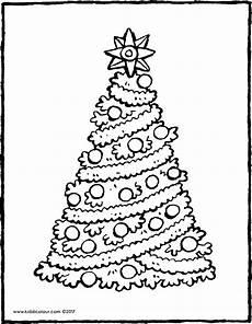 Malvorlagen Tannenbaum Ausdrucken Text Ein Weihnachtsbaum Mit Einem Gro 223 En Kiddimalseite