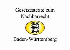 Nachbarschaftsrecht Nrw Sichtschutz - nachbarschaftsrecht baden w 252 rttemberg juli 2019