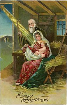 6 vintage christmas nativity images the graphics