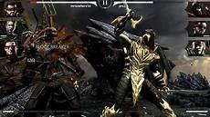 mortal kombat mobile mortal kombat x mobile injustice scorpion gameplay
