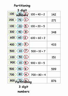 place value and partitioning worksheets 5642 catmac01 s shop teaching resources tes