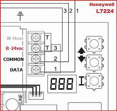 wiring a new honeywell thermostat to honeywell aquastat