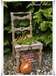 Deko Stuhl Garten - alter stuhl deko garden garten garten deko alte