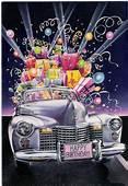 Birthday Car 1981  Happy Greetings