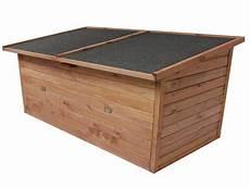 garten aufbewahrungsbox aus holz mit deckel neu