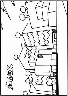 Malvorlagen Geburtstag Roblox A Printable Neighborhood Of Robloxia Coloring Page Lego