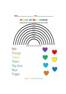 colors of the rainbow worksheets 12805 the rainbow worksheets
