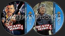 charles bronson collection death wish 4 dvd label dvd covers labels by customaniacs id