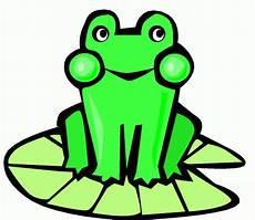 Ausmalbild Frosch Auf Seerosenblatt Frosch Auf Seerosenblatt Ausmalbild Malvorlage Comics