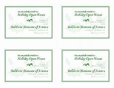 blank business card template open office free printable invitations of open house