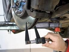 epaisseur disque de frein pied 224 coulisse digital pour disques de freins