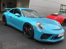 bleu miami m5c couleur de peinture des porsche 911 718