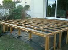 Structure Pour Terrasse En Hauteur Ext 233 Rieur