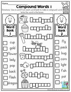 spelling reading worksheets 22532 grade compound words worksheet in the no prep packet for april so many activities