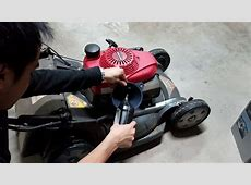 How to Change the Oil on a Honda Lawn Mower   HRX217 HZA